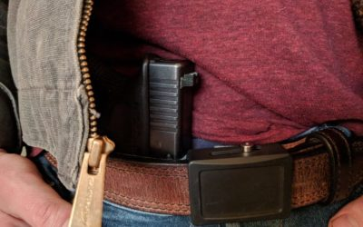 The danger inherent to appendix carrying a pistol