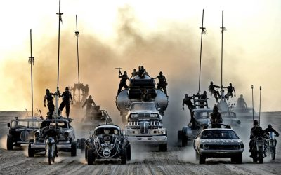 Why don't we see Mad Max style vehicles in actual warfare?