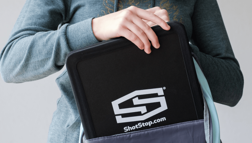 ShotStop Develops Bulletproof Backpack Insert that Stops the Infamous AR-15