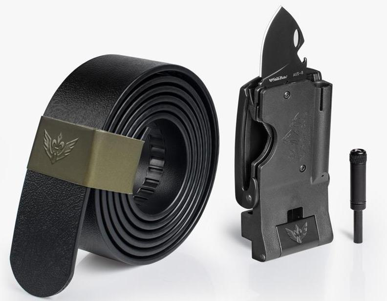 Enhance your EDC with discrete tools inside the Survival Belt 2.0