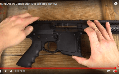 DoubleStar10B Bat Rifle: Graham Baates Video