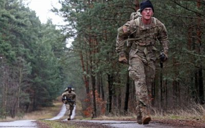 Rucking 22 Miles in a Snap, The Green Beret Way