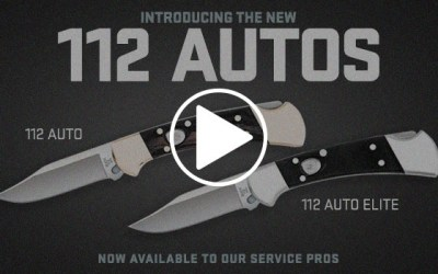 Buck Knives Introduces Automatic Versions of the Iconic 112 Ranger