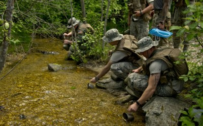 Confidence gained through SERE combat survival training