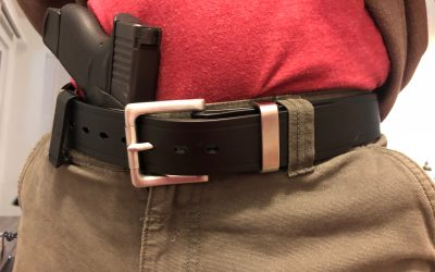 Blackbeard Leather Gun Belt