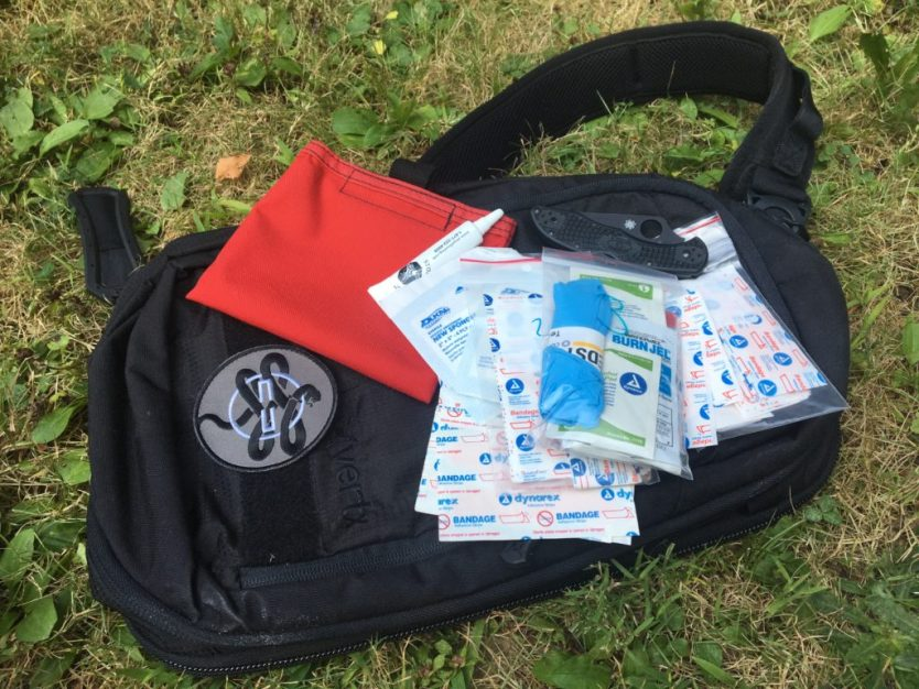 Lightweight hiking first aid kits | Dark Angel Medical Ouch Pouch