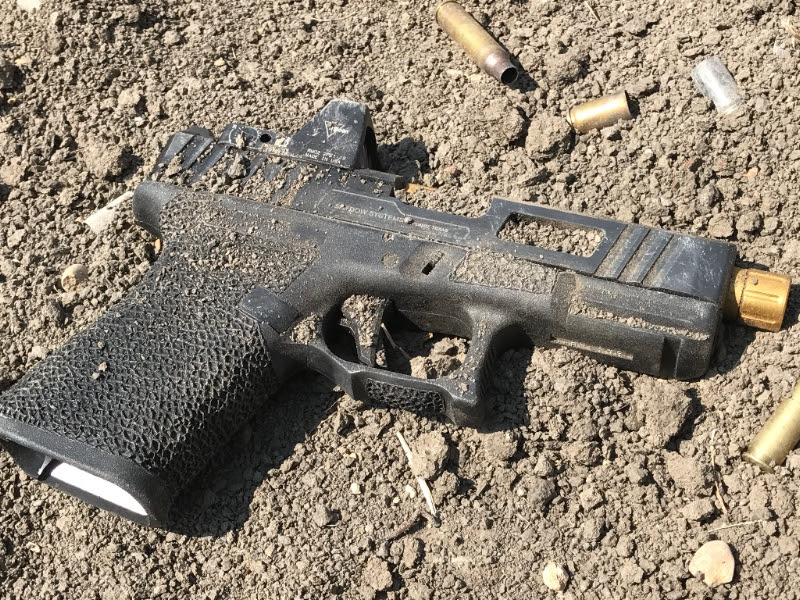 Shadow Systems TOR Pistol | Dirt and Debris Torture Test