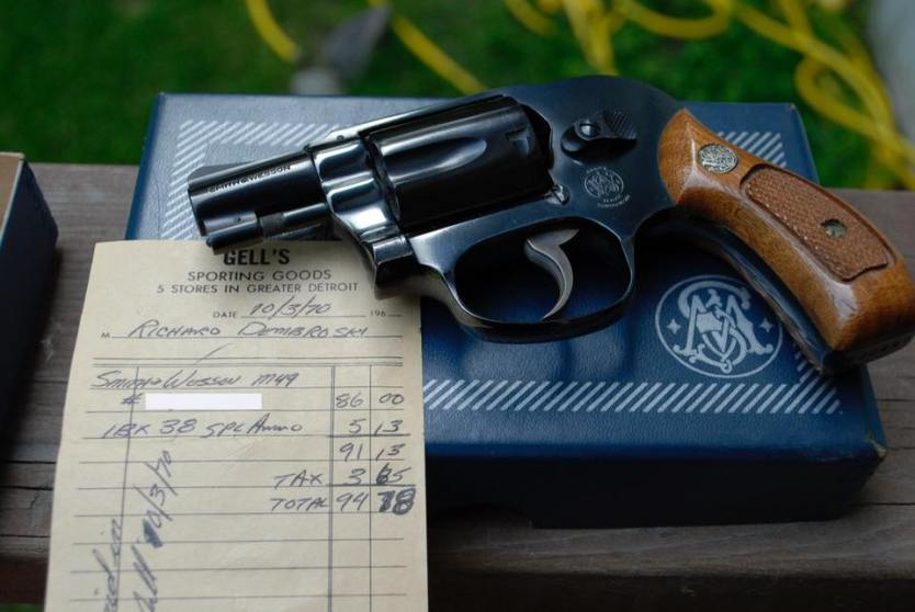 Photo of the day: Smith & Wesson M49