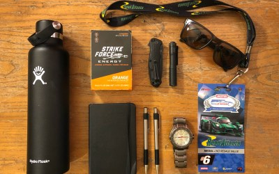 Covering Petit Le Mans: A Marine turned journalist's loadout