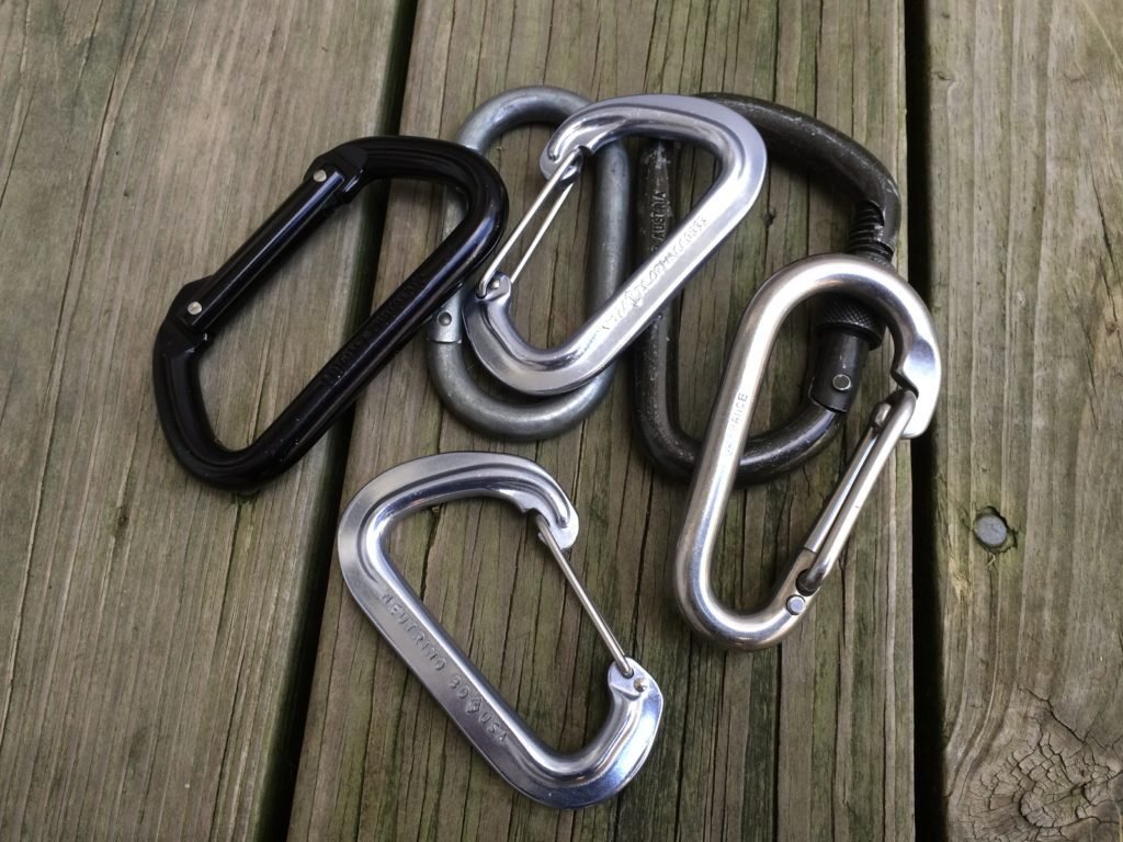 You're only limited by your imagination as to what you can do with a carabiner. They are not just for climbing and rappelling. They come in handy for everyday uses if you think outside the box. I personally stay away from the cheap carabiners sold at the checkouts of hardware stores. For EDC purposes I recommend the Black Diamond Neutrino. It's a lightweight, low profile, climbing rated carabiner.