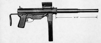 OSS Suppressed Grease Gun