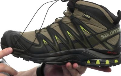 Salomon XA Pro Mid GTX: The iconic, mid-height, waterproof mountain shoe