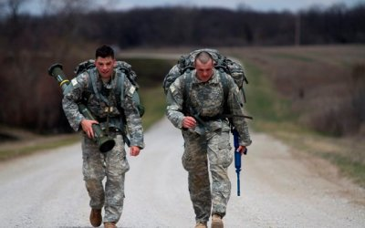 Rucking For a Cause on Veterans Day