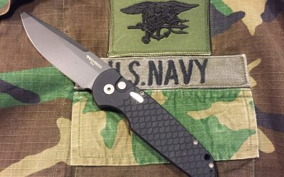 ProTech TR-3 EDC knife reviewed by a retired Navy SEAL