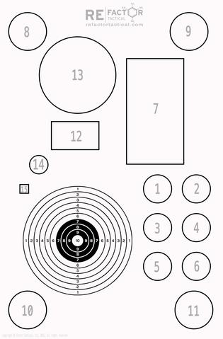 RE Factor Tactical: Targets Aimed at Improving your Marksmanship