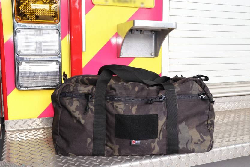 Recycled Firefighter Battalion 42 Liter Duffle Bag