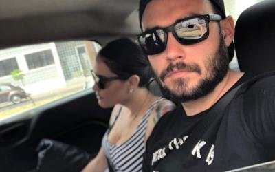 Photo of the day: Using Uber in Mexico