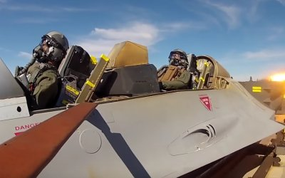 Ever wonder how they test ejection seats? With rocket trains, of course