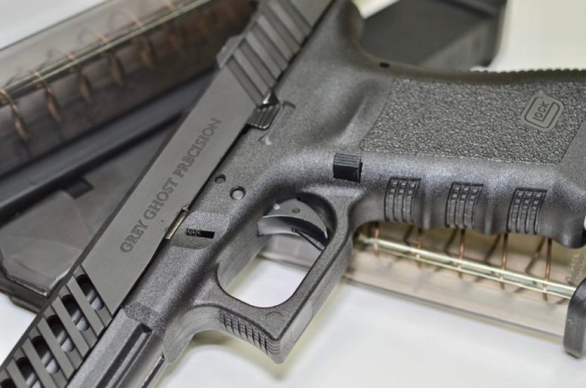Hop up your Glock: OEM Extended Slide Stop