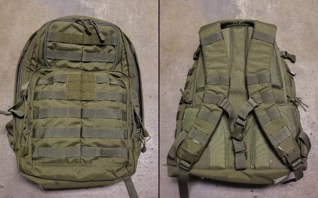 The 5.11 Tactical Rush 24 backpack