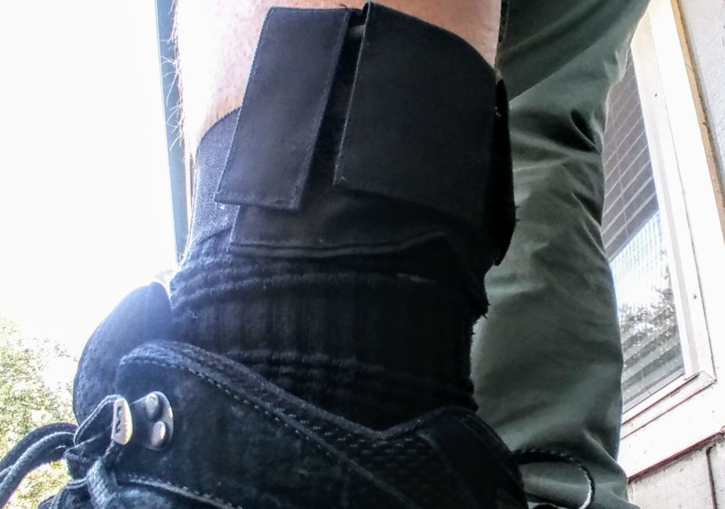 Krupto Strategic SERE ankle band: A Crate Club exclusive product