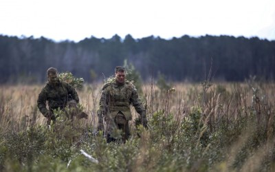 Photo of the day: Pre-Scout Sniper students stalk targets