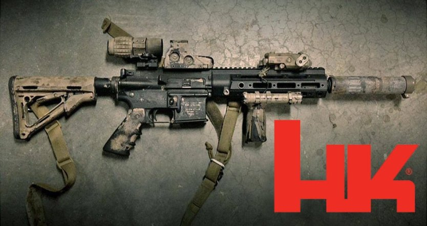 The HK 416 Short Barreled Rifle