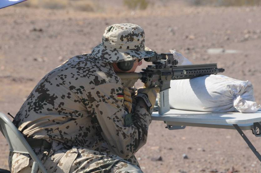 The HK416 A7: German special operations units select new rifle