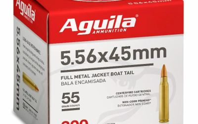 Aguila Ammunition Brings Bulk 5.56 Rifle Ammo To The Market