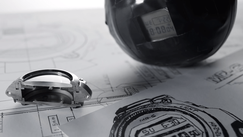 The story of the world's first G-Shock watch