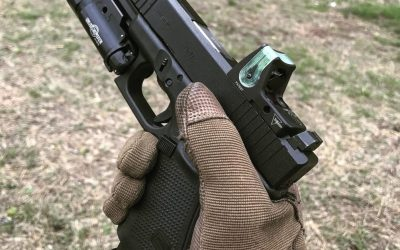 Red dot sights on pistols: Some pros and cons