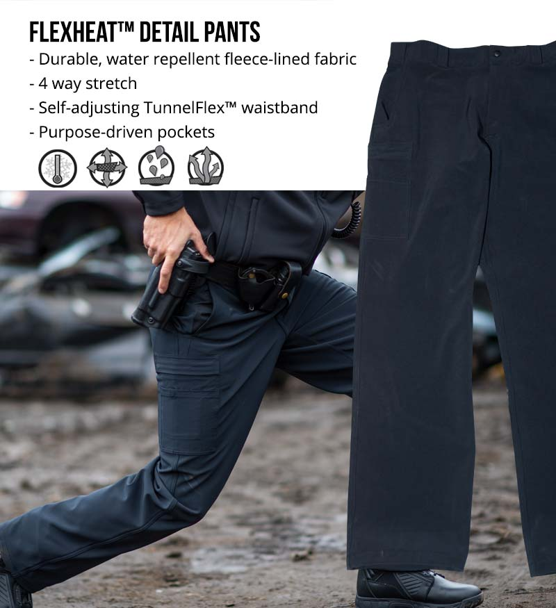 The Next Generation of Patrol Wear has Arrived: Blauer FlexHeat Detail Pants