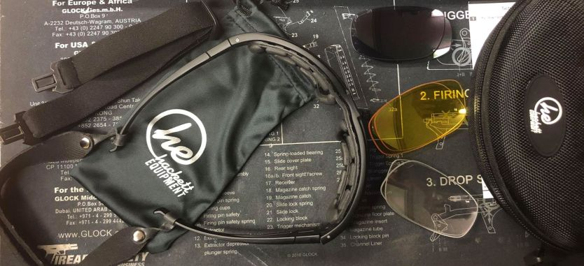 See more with Hackett Equipment's Tactical Shooting Glasses