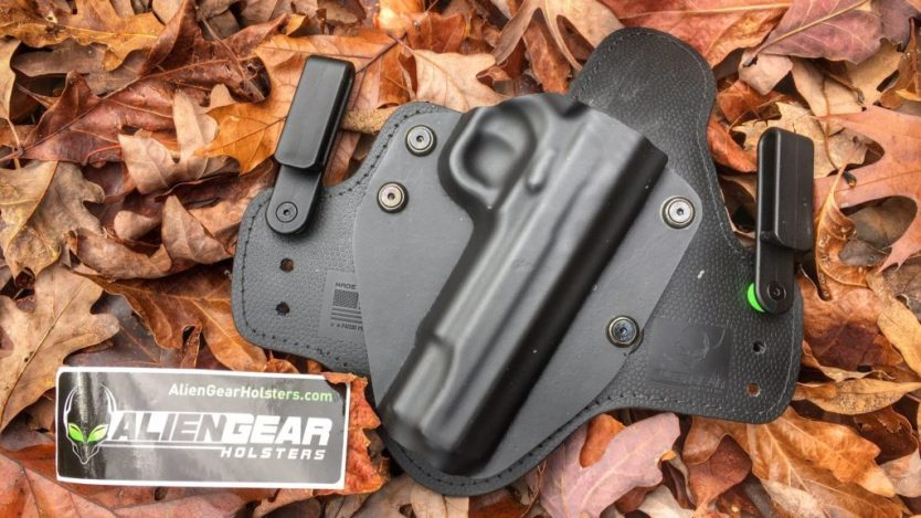 Alien Gear IWB handgun holster