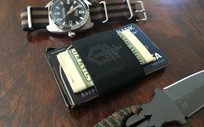 Gerber Barbill wallet: Minimalist yet functional