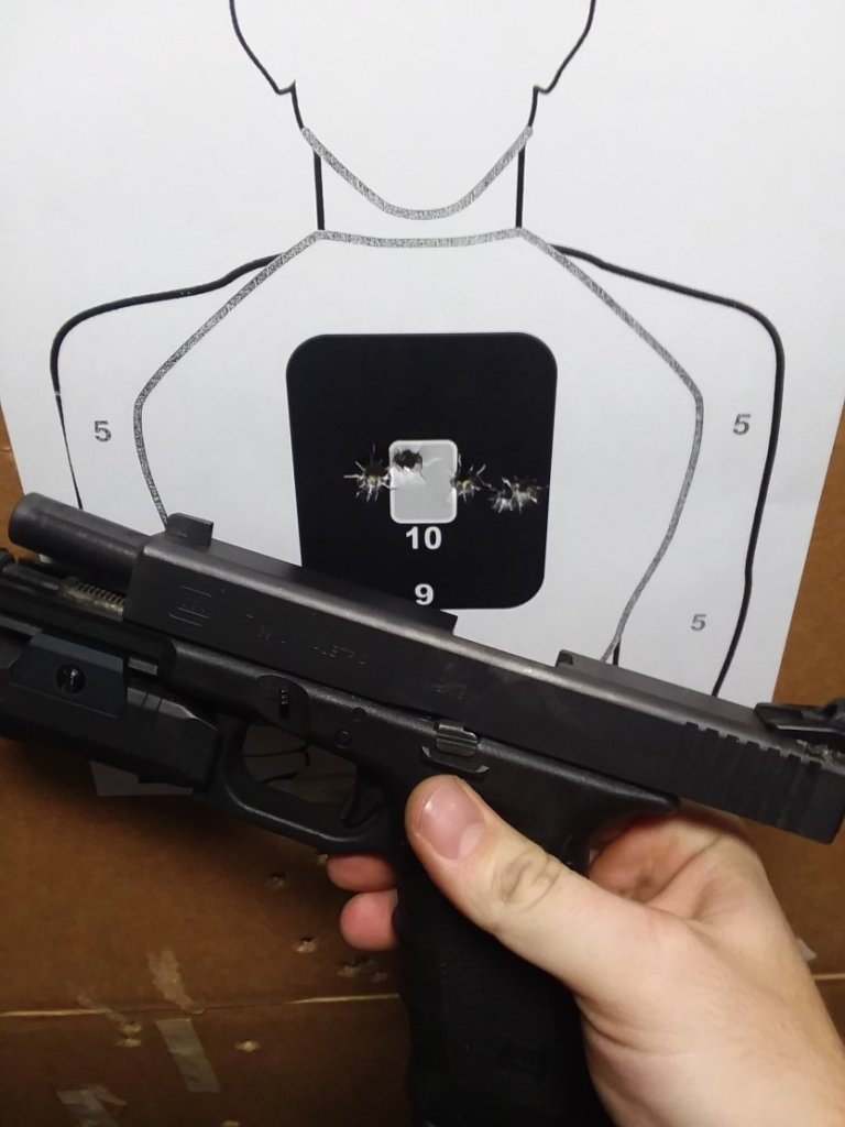 The Glock 17: A pistol for fighting