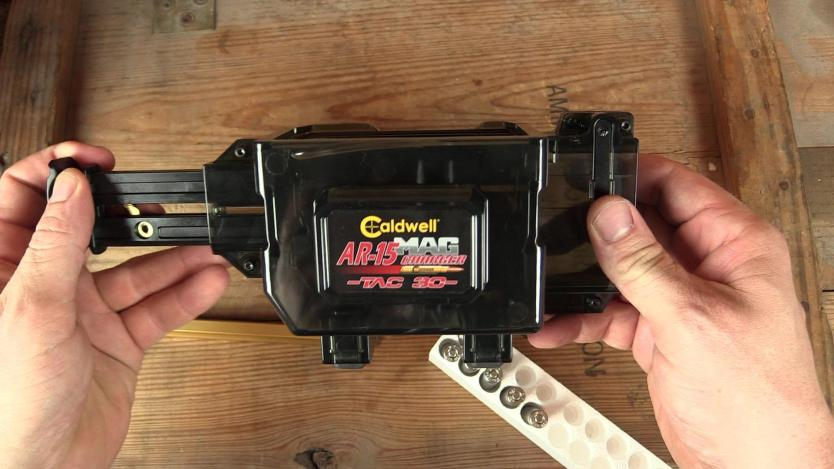 Load your AR Mag in 10 Seconds? Caldwell Mag Charger