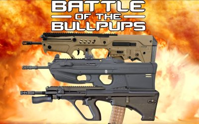 Jerry Miculek walks us through the Battle of the Bullpup Rifles