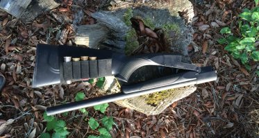 The Tristar folding shotgun is ready for your wilderness adventures