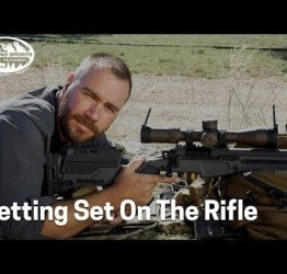 Ranger sniper discusses getting on the rifle