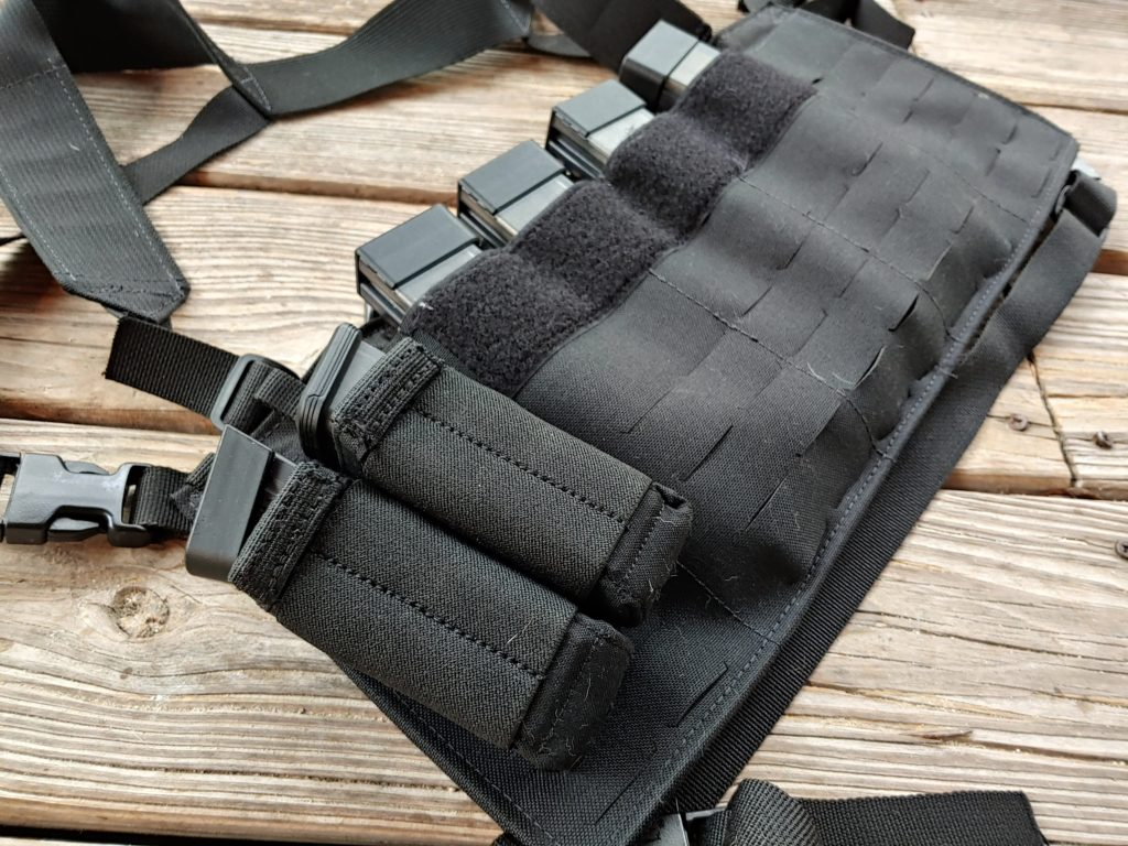 The Pistol Caliber Carbine chest rig By Beez Combat Systems