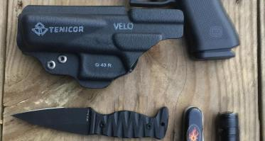 Former Navy SEAL, Kyle Defoor, weighs in on the Tenicor Velo holster