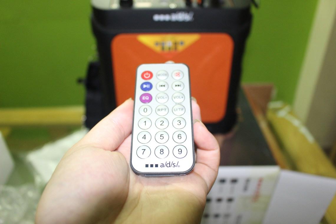 điều khiển loa di động ads DC160