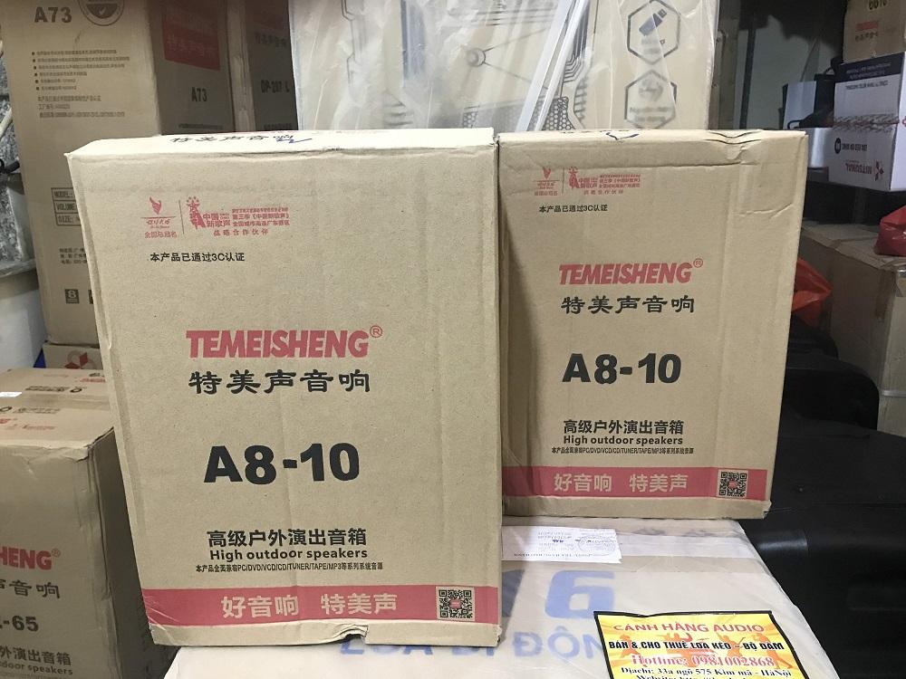 Hộp loa kéo Temeisheng A8-10