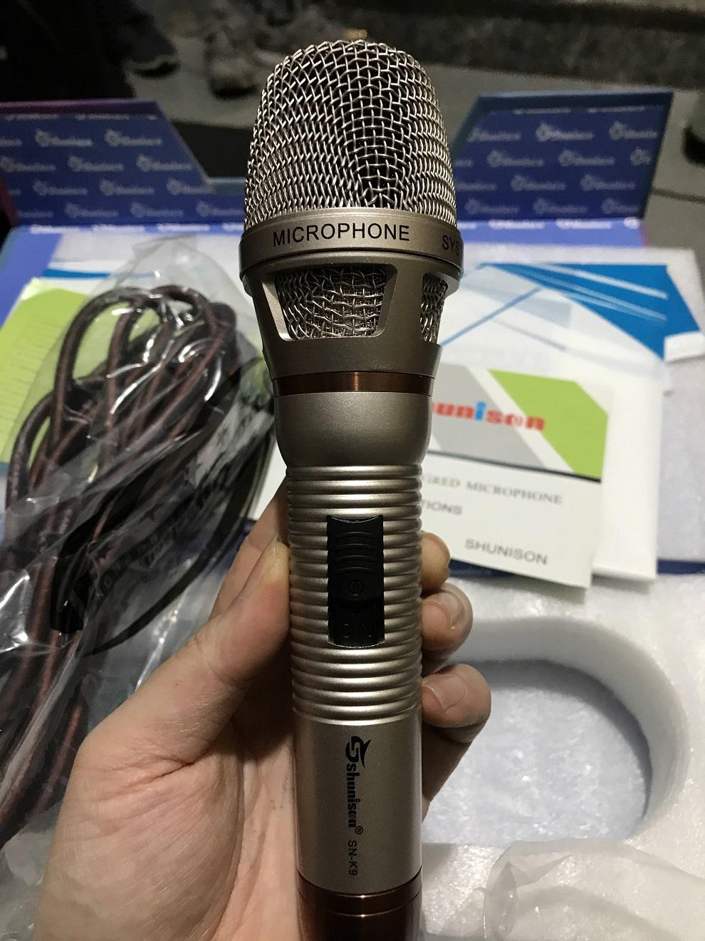 Micro có dây SN-K10