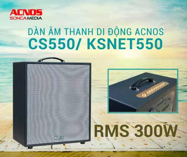 dan karaoke di dong acnos ksnet550 va cs550