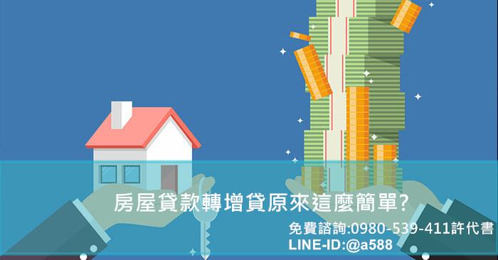 房屋貸款轉增貸