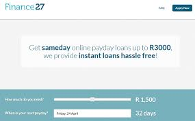 Finance 27 Payday Loan