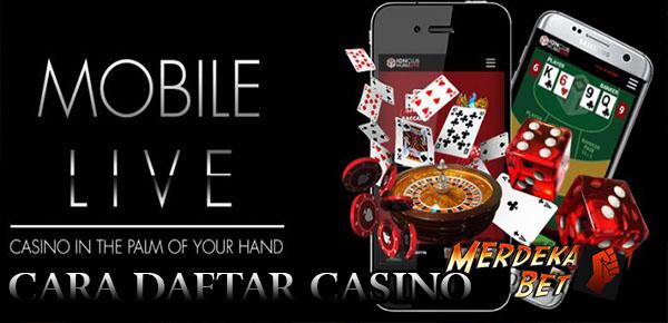 Cara Daftar Casino di Merdekabet