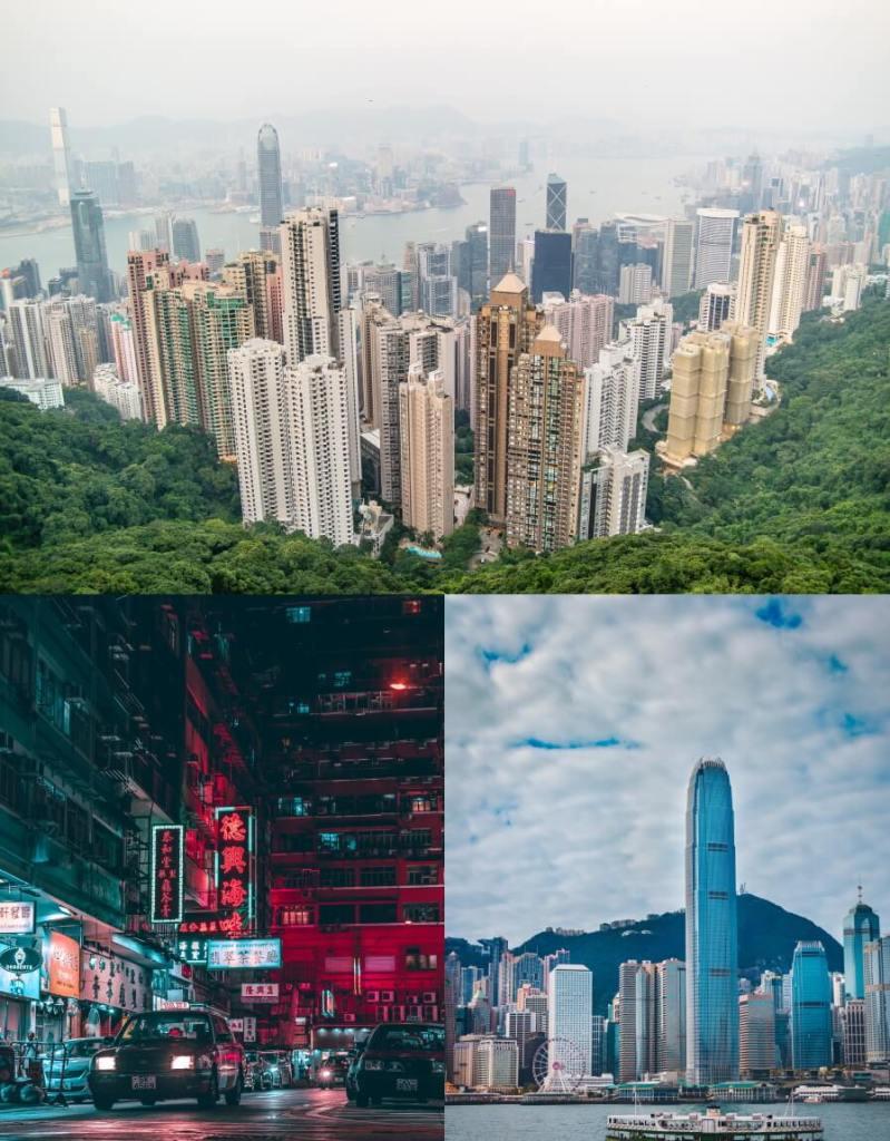 Hong Kong City Montage Lob